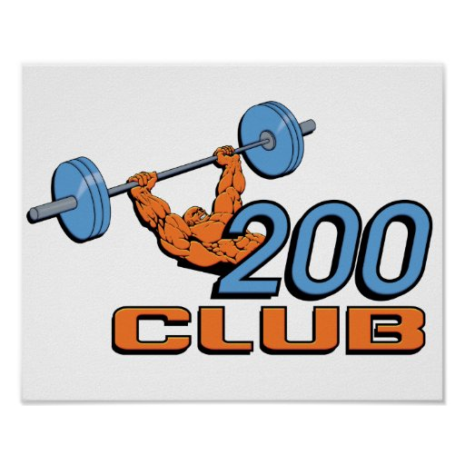 200 Club Poster