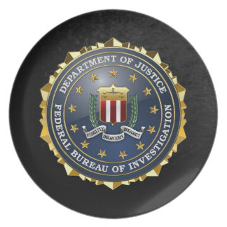 [200] FBI Special Edition Plate