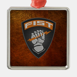 [200] Forward Observer (FIST) [Patch] Christmas Ornament