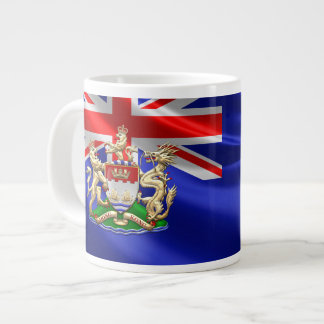 [200] Hong Kong Historical 1959-1997 Coat of Arms Giant Coffee Mug
