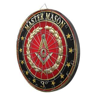 [200] Master Mason, 3rd Degree [Special Edition] Dartboard With Darts