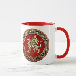 [200] Sacred Gold Griffin Mug
