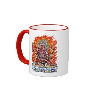 [200] Tibetan Thangka  - Wrathful Deity Hayagriva Ringer Mug
