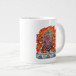200 Tibetan Thangka - Wrathful Deity Hayagriva Jumbo Mug