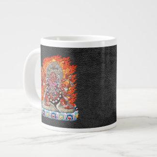 200 Tibetan Thangka - Wrathful Deity Hayagriva Extra Large Mug