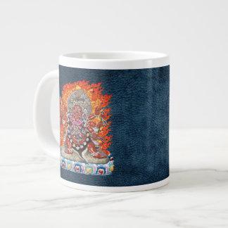200 Tibetan Thangka - Wrathful Deity Hayagriva Jumbo Mugs
