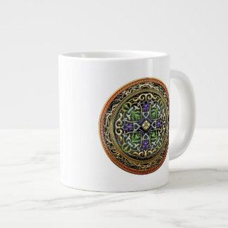 [200] Treasure Trove: Celtic Cross Large Coffee Mug