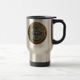 [200] Treasure Trove: Celtic Cross Stainless Steel Travel Mug