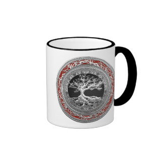 200 Treasure Trove Celtic Tree of Life Silver Mugs