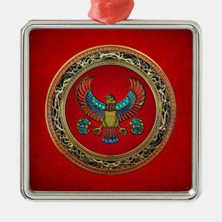 [200] Treasure Trove: Egyptian Falcon Christmas Ornament