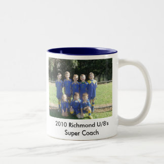 2010_081414-8-20100084, 2010 Richmond U/8's Sup... Two-Tone Mug