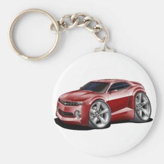 2010-11 Camaro Maroon Car Key Ring