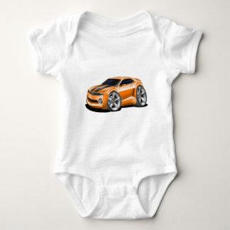 2010-11 Camaro Orange-Black Car Baby Bodysuit