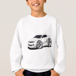 2010-11 Camaro White Car Sweatshirt
