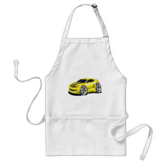 2010-11 Camaro Yellow-Black Car Standard Apron