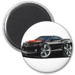 2010-12 Camaro Black-Red Car Magnet