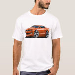 2010-12 Camaro Orange Car T-Shirt