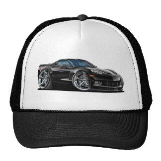 2010-12 Corvette Black Car Cap