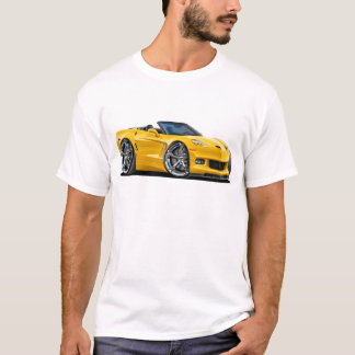 2010-12 Corvette Yellow Convertible T-Shirt