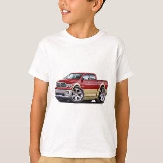 2010-12 Ram Dual Maroon-Tan Truck Tshirts