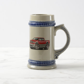 2010-12 Ram Dual Red-Grey Truck Beer Stein