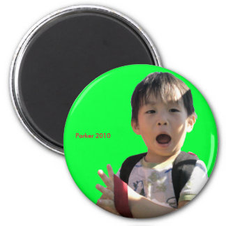 2010 Ah 6 Cm Round Magnet