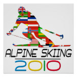 2010: Alpine Skiing Poster