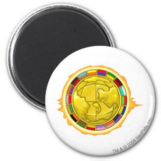 2010 Altador Cup Logo 6 Cm Round Magnet