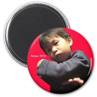 2010 Angry 6 Cm Round Magnet