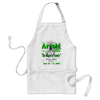 "2010 Arnold Reunion apron - ""magic"""