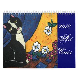 2010 Art Cats Calendar