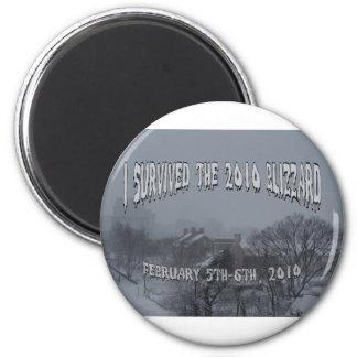 2010 Blizzard Fridge Magnet