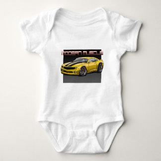 2010_Camaro_Yellow Baby Bodysuit