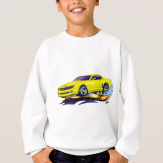 2010 Camaro Yellow Car Sweatshirt