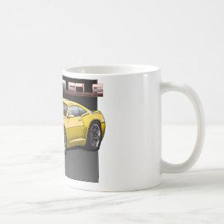 2010_Camaro_Yellow Classic White Coffee Mug