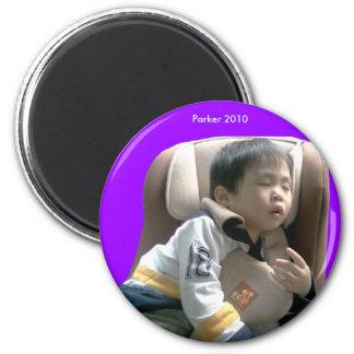 2010 Car Seat 6 Cm Round Magnet