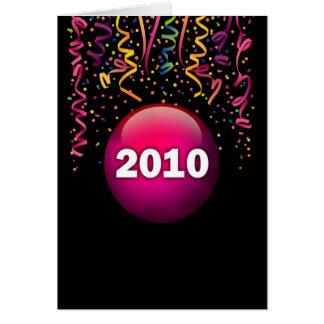 2010 Confetti Greeting Card