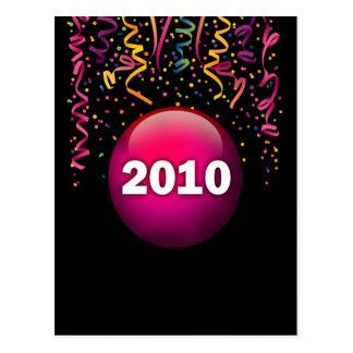 2010 Confetti Postcard
