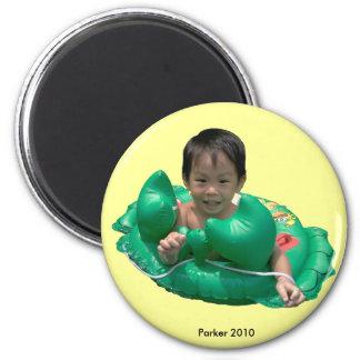 2010 Crab 6 Cm Round Magnet