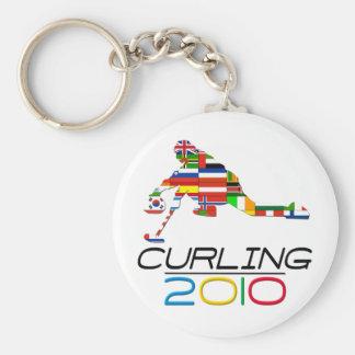 2010: Curling Key Chain