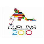 2010: Curling Postcard