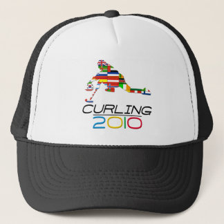 2010: Curling Trucker Hat