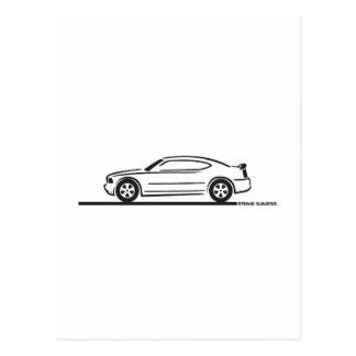 2010 Dodge Charger Postcard
