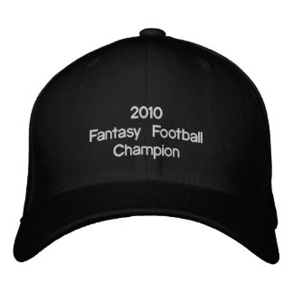 2010 Fantasy Football   Champion Embroidered Hat