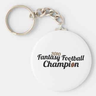 2010 fantasy football champion key chain