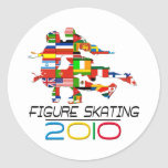2010: Figure Skating Stickers