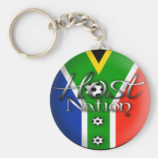 2010 Football host nation gifts & souvenirs Basic Round Button Key Ring
