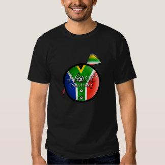 2010 Football host nation gifts & souvenirs Tee Shirt