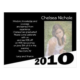 2010 Graduation Annoucment Postcard