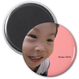 2010 Grin 6 Cm Round Magnet